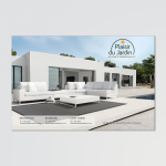Half page advert for Plaisir du Jardin for SA Garden and Home magazine